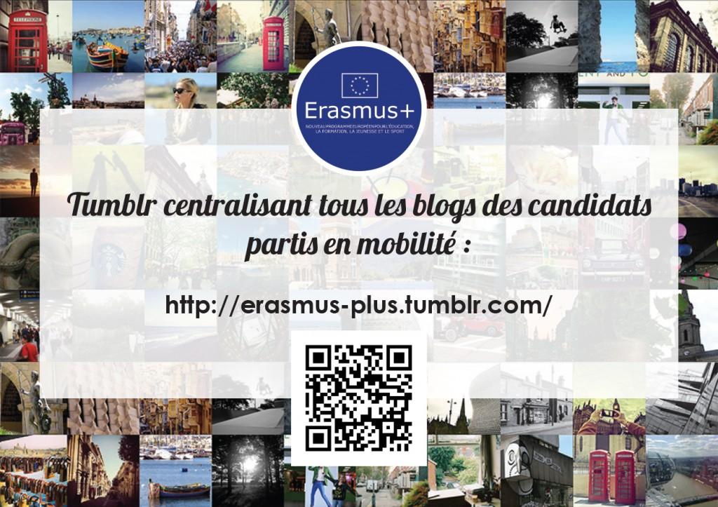 Affiche Tumblr Erasmus+